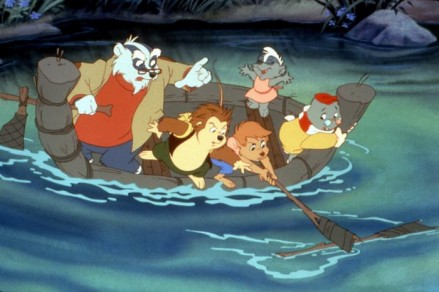 ONCE UPON A FOREST, Cornelius, Russell, Abigail, Edgar, Michelle, 1993, TM and Copyright (c)20th Century Fox Film Corp. All rights reserved.