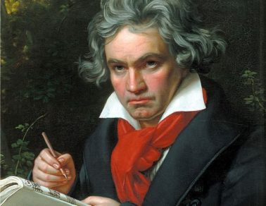 Retrato de Beethoven feito por Joseph Karl Stieler